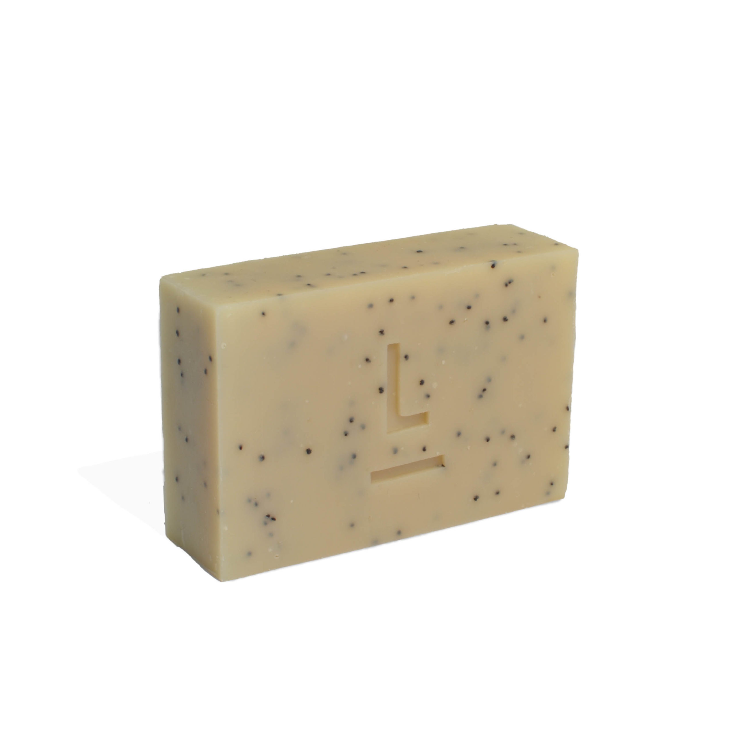 Honey & Poppyseed Soap with Petitgrain, Orange & Patchoulli