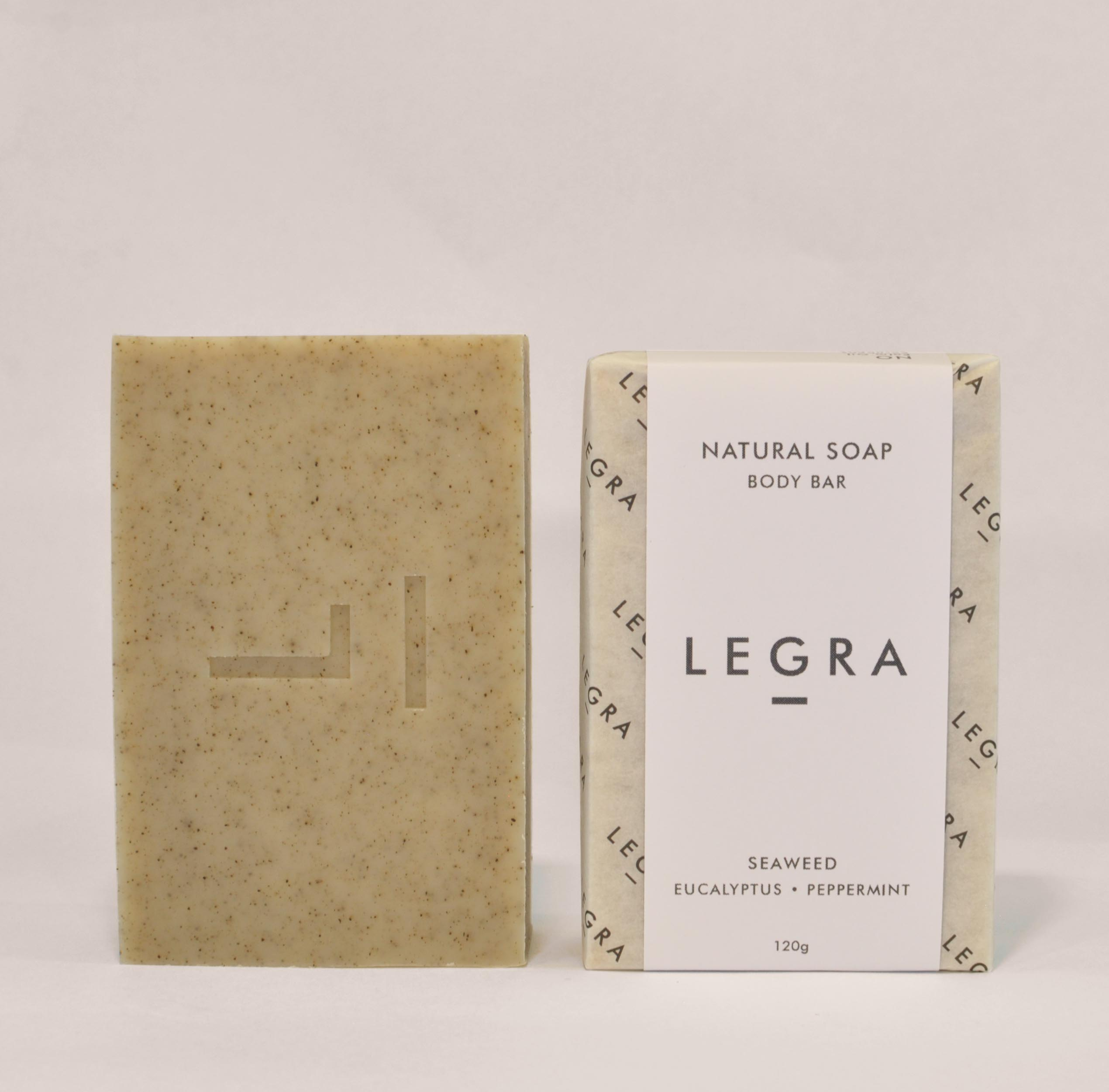 Seaweed Soap with Eucalyptus & Peppermint