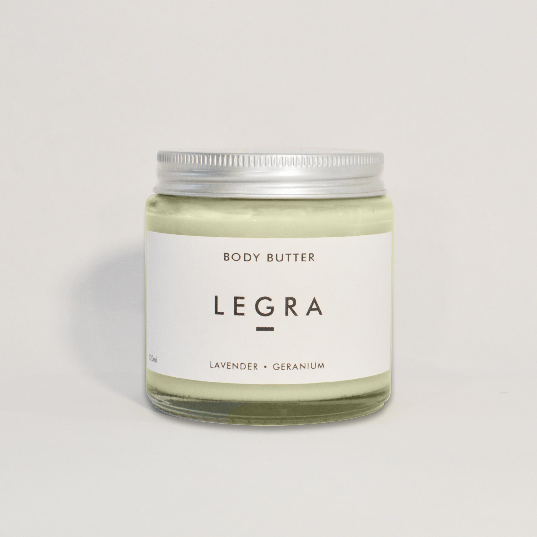 Body Butter with Lavender, Geranium & Patchouli (120ml)