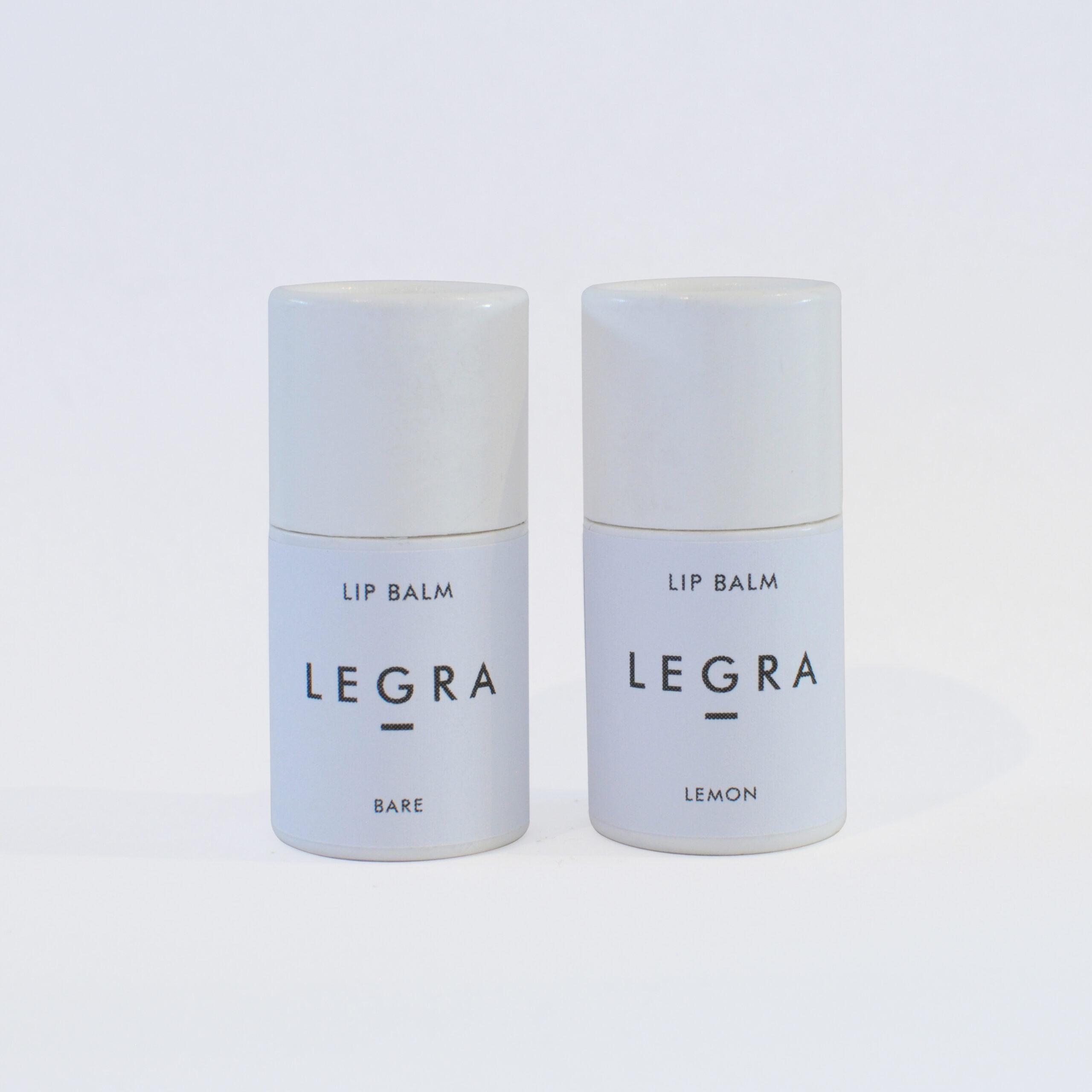 Lip Balm Duo - Lemon + Bare